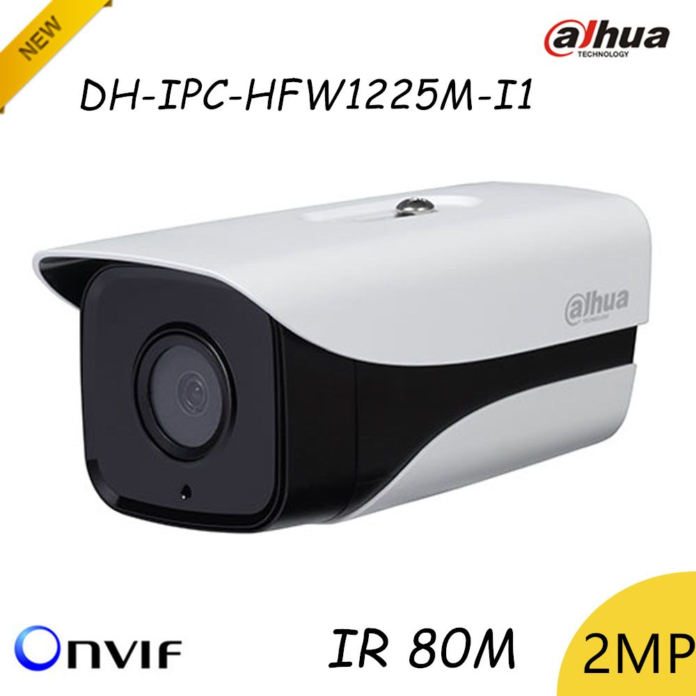 Camera De Surveillance Exterieur Dahua Hd 1080p Dahua Ip Camera Dh Ipc Hfw1225m I1 2mp Ip67 Surveillance