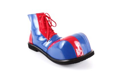 Zapatos de Payaso en Charol Rojo y Azul | Clown | Zapatos de