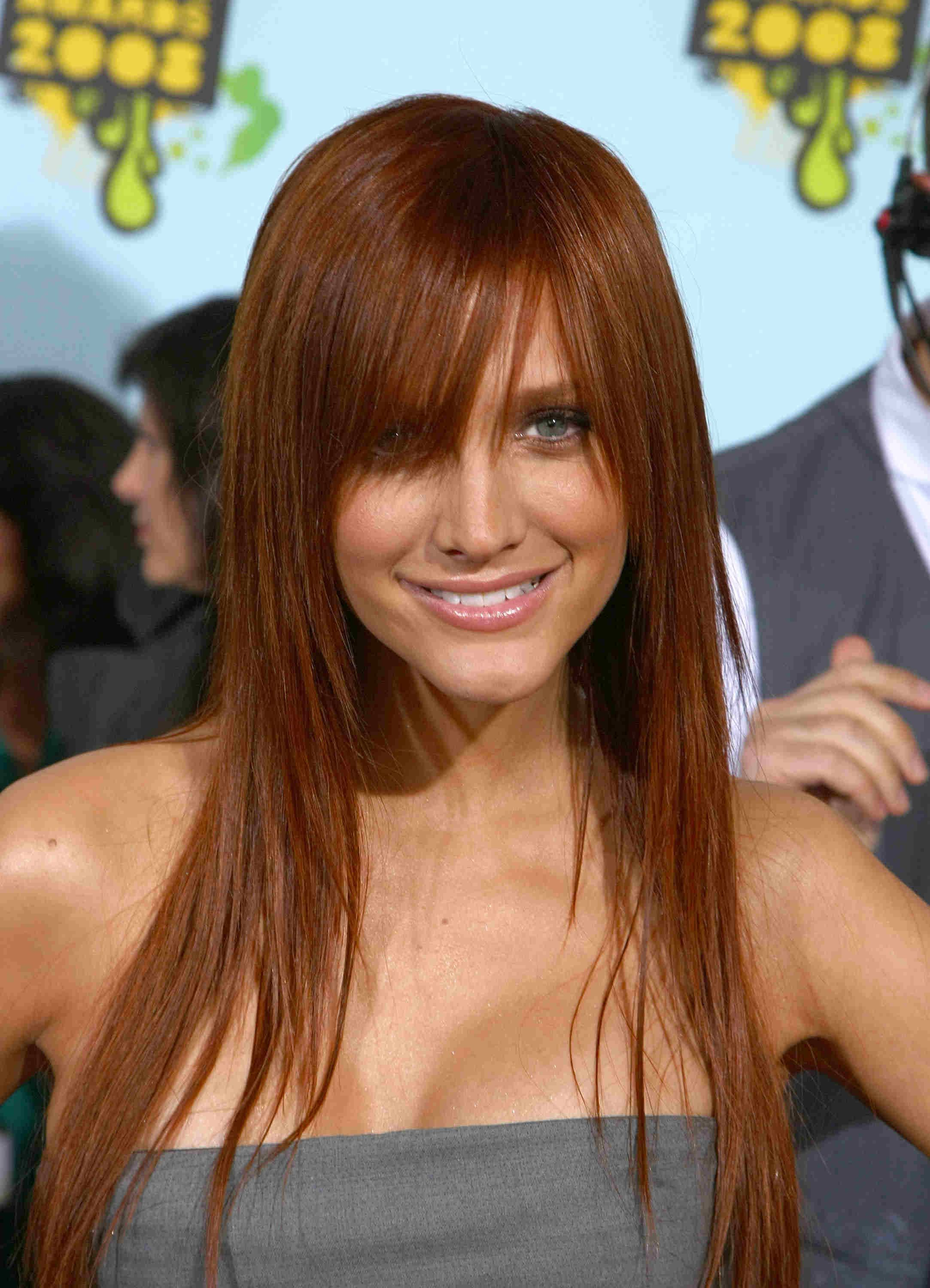 Ashlee Simpson Red Hairdownload Wallpaper Red Hair Color Styles