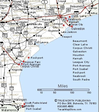 Texas Gulf Map Texas Gulf Coast Towns Map | Town map, Texas coast, Gulf coast