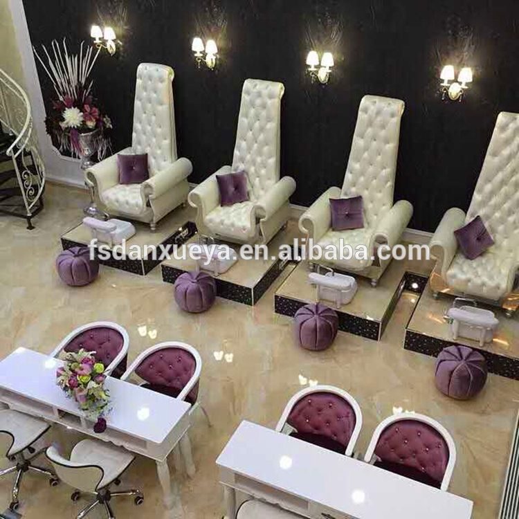 danxueya- luxury nail salon chair/ modern new fashion design spa ...