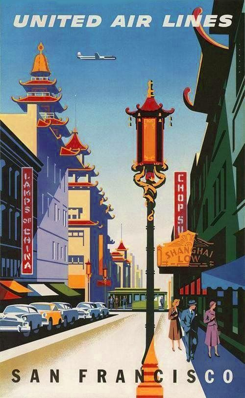 San Francisco by Steve Forney Golden Gate Bridge Print Poster 12x36