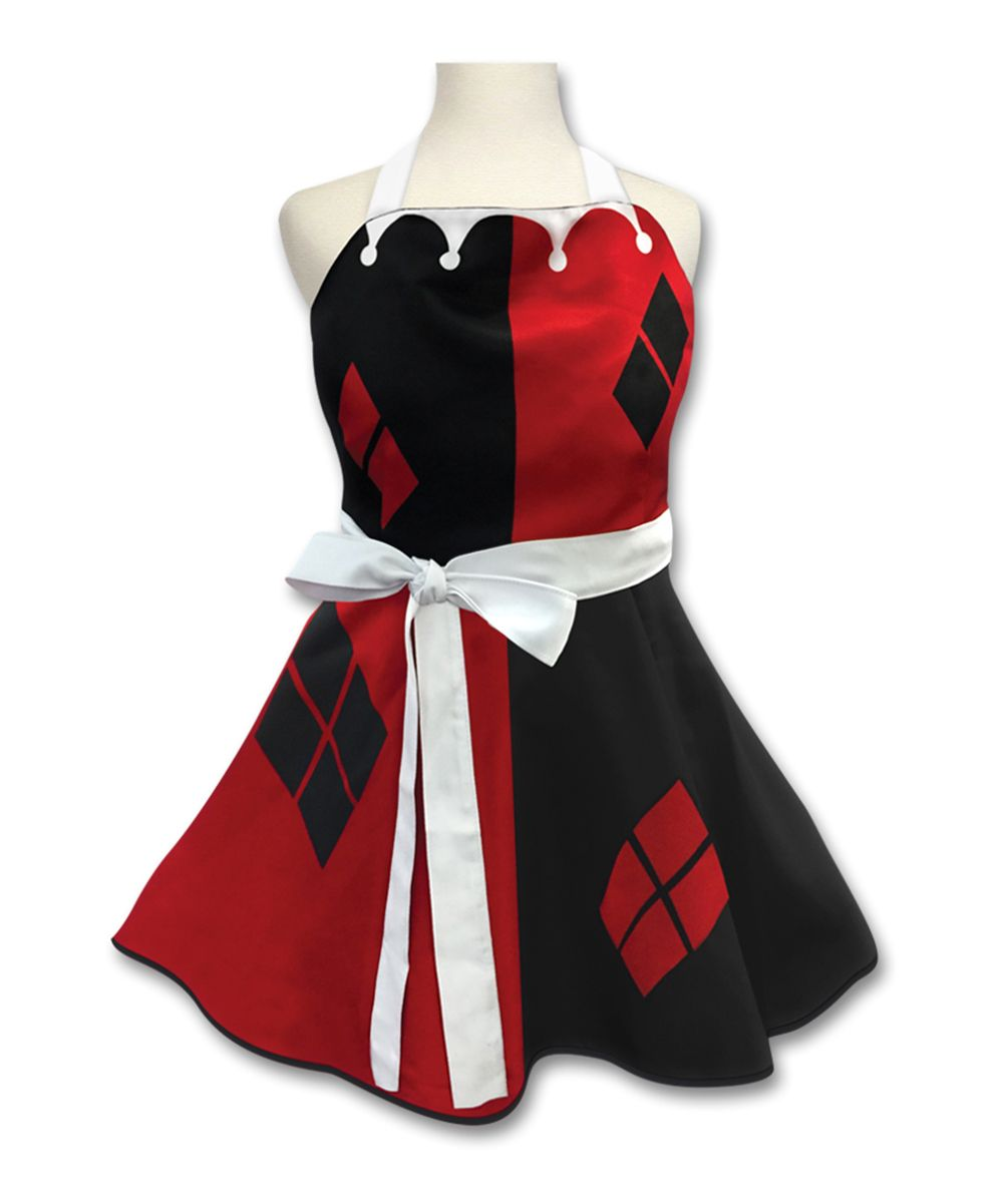 Harley quinn fashion apron products pinterest products