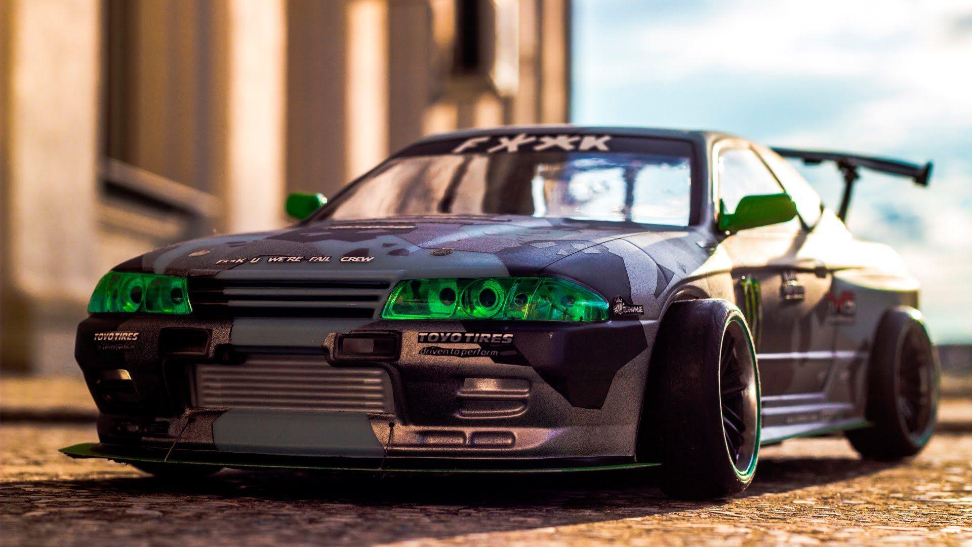Badass Rc Drift Car Nissan Skyline Gt R Rc Drift