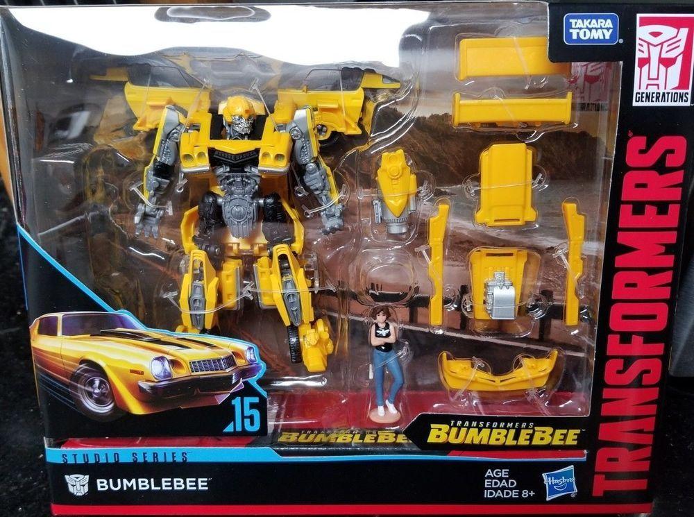 Transformers Studio Series Deluxe Class Rebekah/'s Garage Bumblebee with Charlie