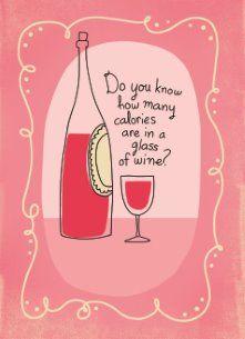 calorieën glas wijn
