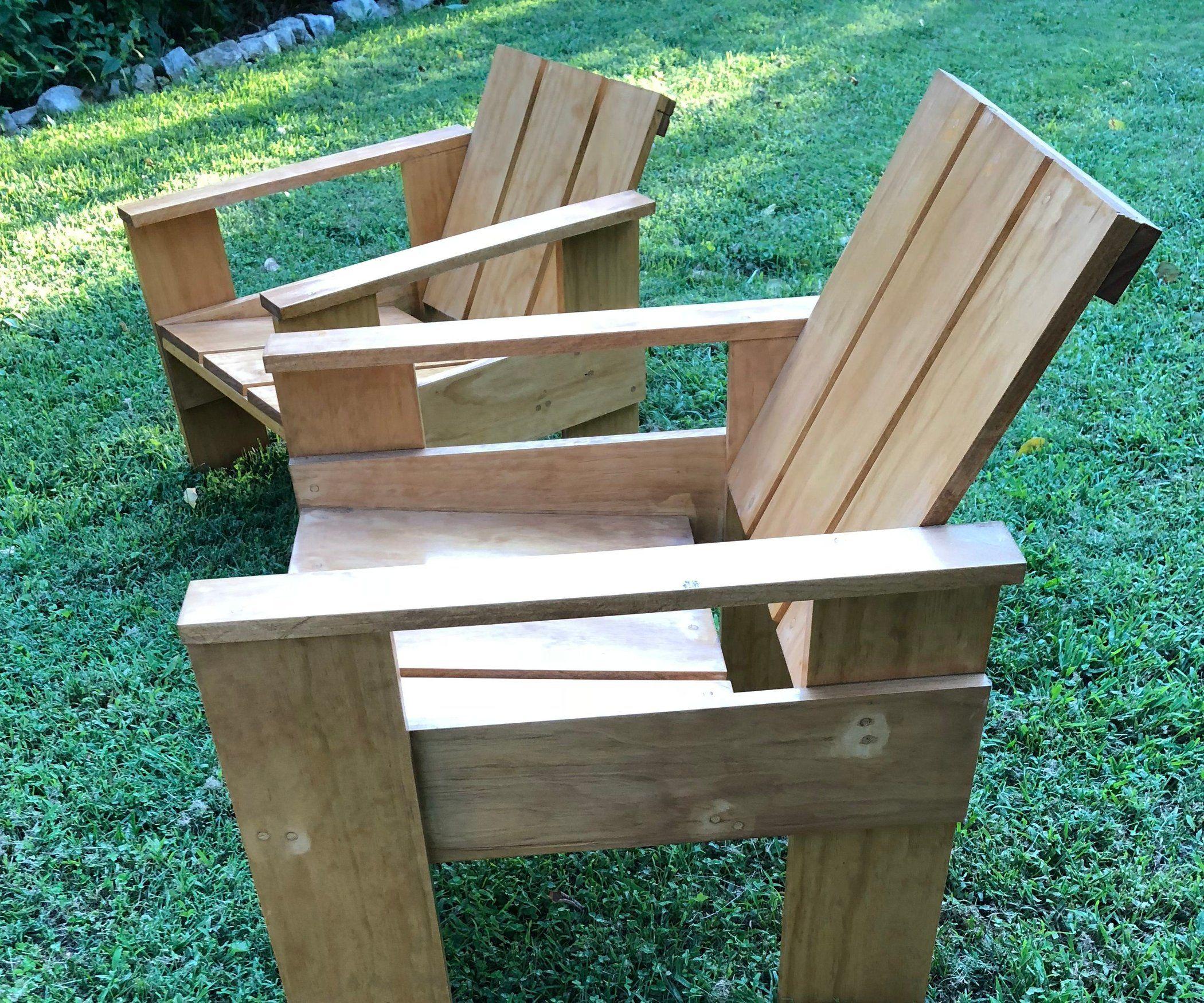 Gerrit Rietveld Crate Chair Vintage Chair Diy Dutch Furniture