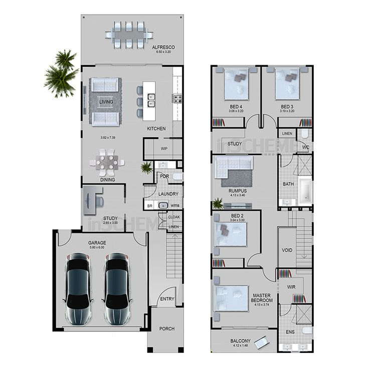 Simple Duplex Plans 25 Best Ideas About Duplex Design On Pinterest Duplex Duplex Design Narrow House Designs Narrow House Plans