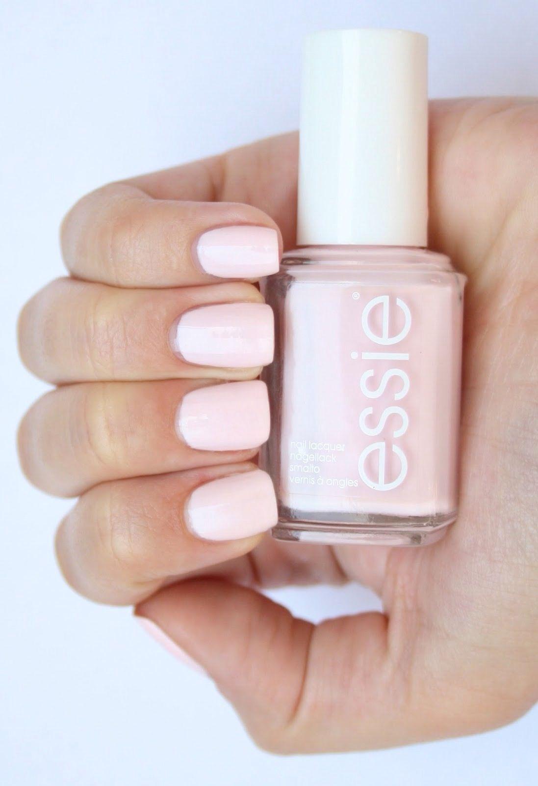Beautiful neutral pink nails. Essie Figi nail polish   Nice Nails ...