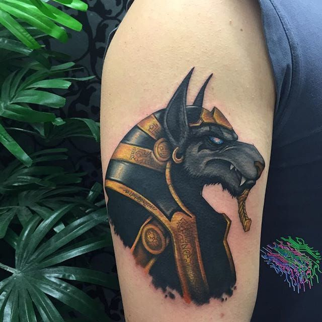 Pin by Brielle McDonnell on Tattoos | Anubis tattoo