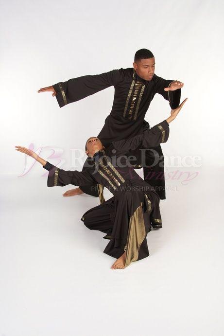 Jericho Long Sleeve Tunic - Praise & Worship Dance Wear