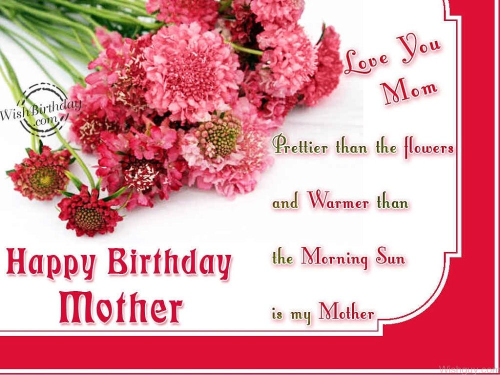 Birthday Wishes For Mom From Daughter Images | Birthday Wishes For Mom ...