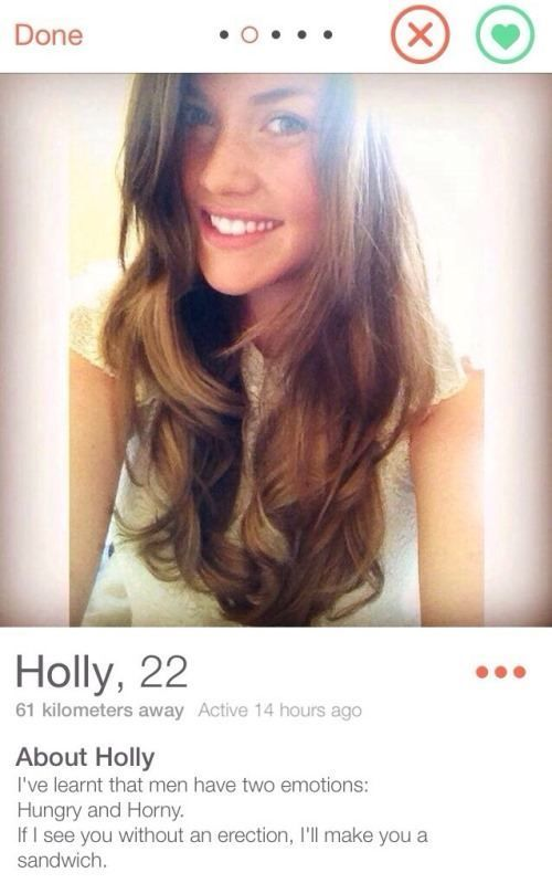 Cool online dating profili