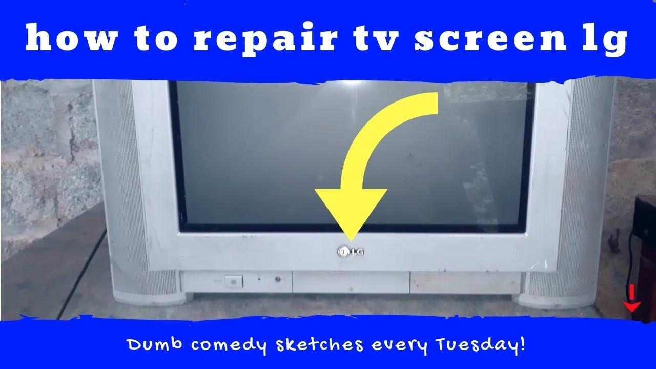 How to repair tv screen lg no picture diy repair tv