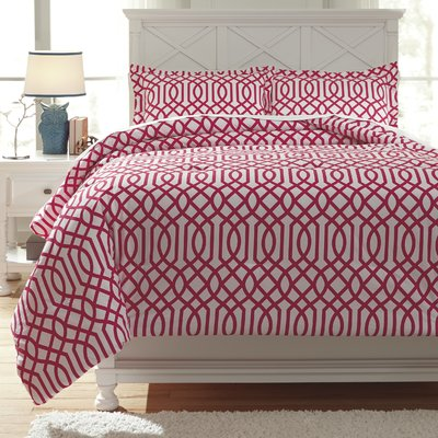 Red Barrel Studio Rambert Comforter Set Size Twin Colour