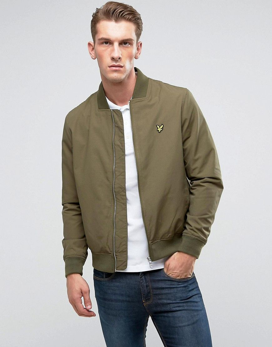 Get This Lyle Scott S Bomber Jacket Now Click For More Details Worldwide Shipping Lyle Scott Logo Bomber Jacket Khaki Green Bomber Jacket By Lyle Scot [ 1110 x 870 Pixel ]
