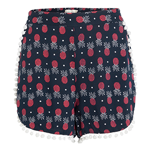 Patterned+Shorts+-+Lindex