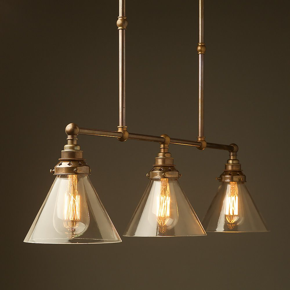 Terrific Antique Brass Edison Billiard Table Light Kitchen Lighting Interior Design Ideas Tzicisoteloinfo