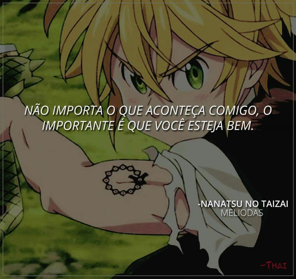 frases impactantes anime: Natsu No Taizai (The Seven Deadly Sins