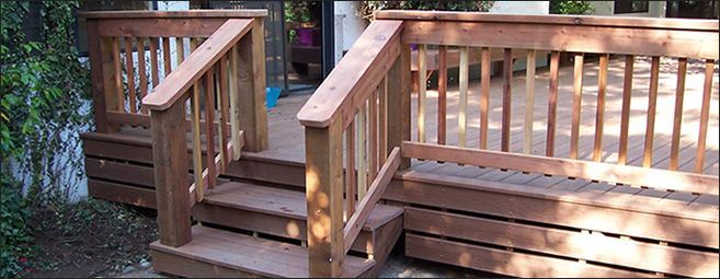 deck railings ideas | ... Deck Railings - Porch Railings - Composite Deck Railing -Wood Deck