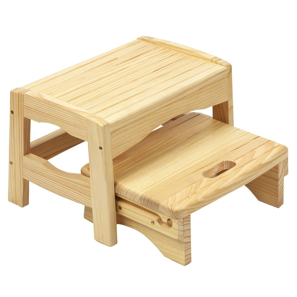 Safety 1st Wooden 2 Step Stool | Step stool | Pinterest | Stools ...