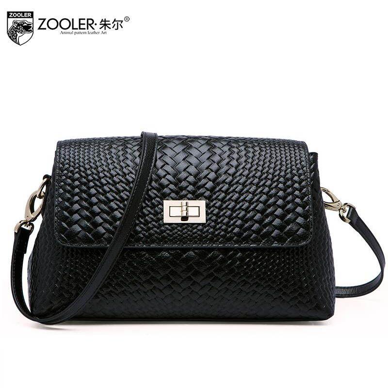 ZOOLER2016 new high-quality luxury fashion brand messenger bag leather bag  counter genuine 79954c46feb22