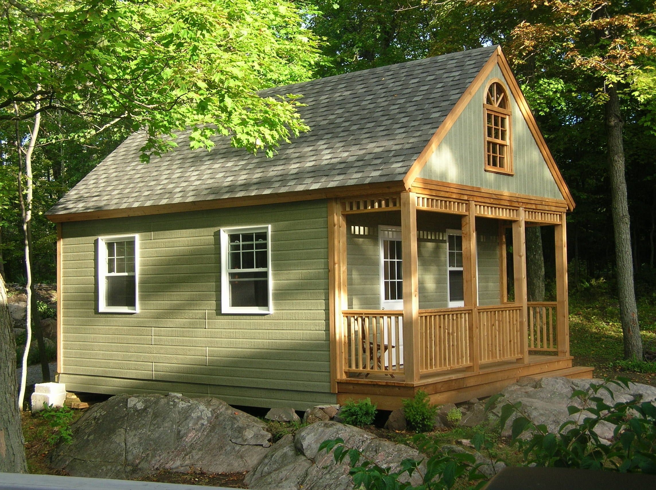 Tiny Home Designs: This #Cheyenne #design Makes A Perfect #bunkie For Your