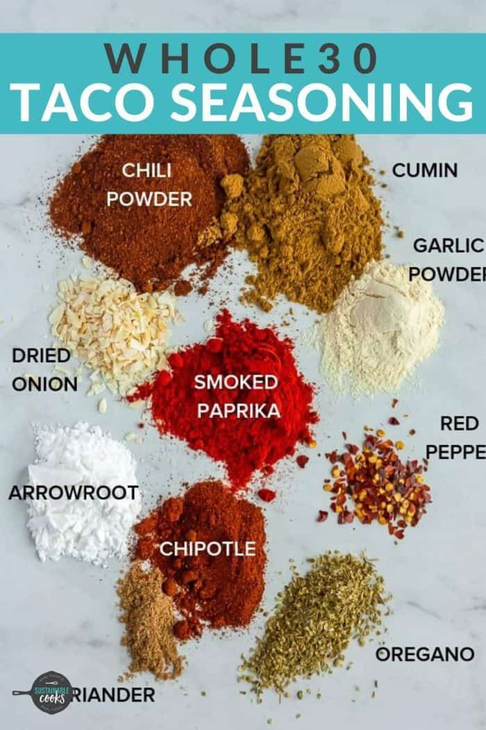 Whole30 Taco Seasoning {Paleo, Keto, Whole30}