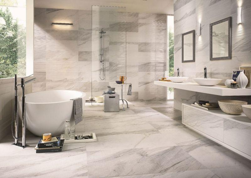 badezimmer Badgestaltung mit Fliesen \u2013 89 der schönsten Badfliesen - badezimmer design badgestaltung