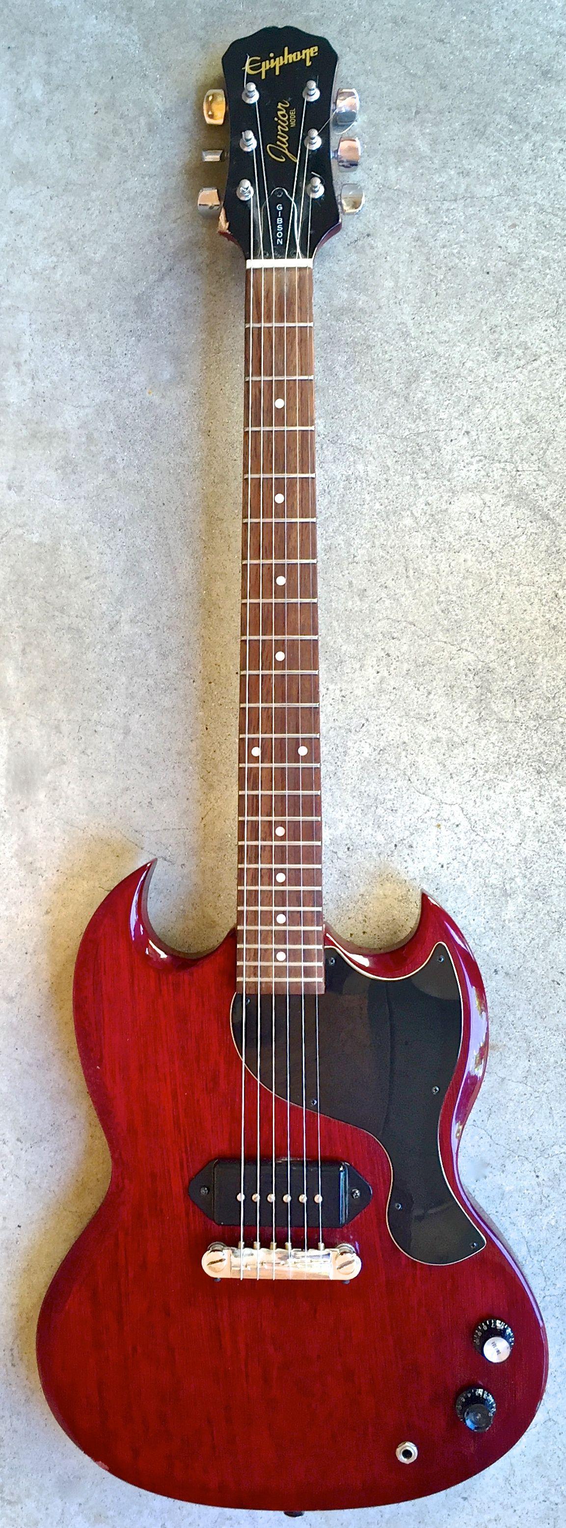 1997 Epiphone SG Junior | Electric Guitars #Guitarporn in