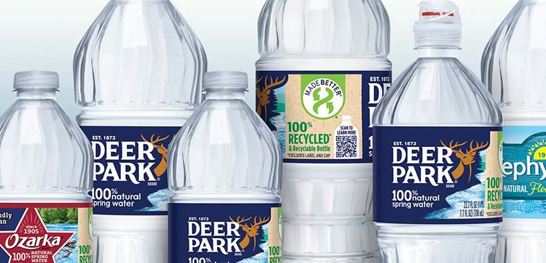 Nestle Waters North America Expands Use Of 100 Rpet In Additional Bottled Water Brands Food And Drin In 2020 Branded Water Bottle Water Branding Spring Water Brands