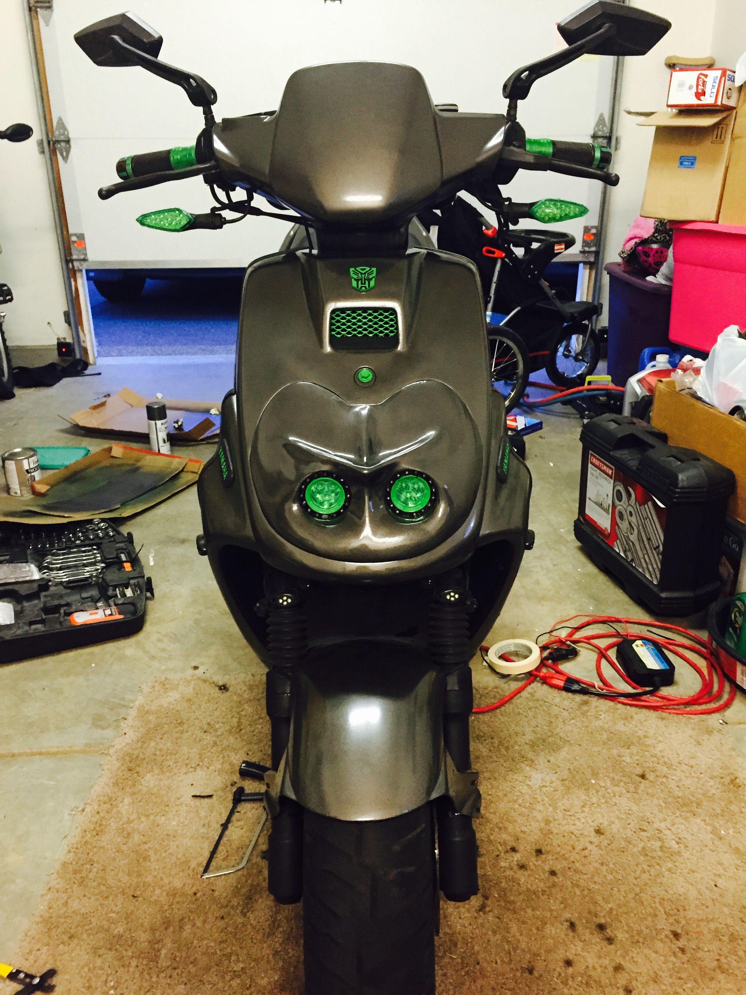 Pin By Rob Ferrell On Yamaha Zuma 50 Pinterest And 50th Aksesoris Honda 70