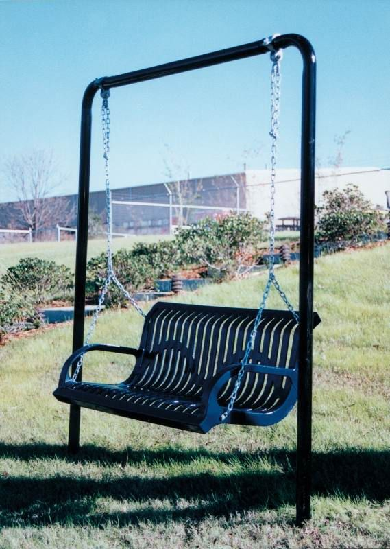 Porch Swings Patio Outdoor Commercial Grade Metal Swing