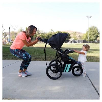 Baby Trend Cityscape Jogger Travel System Vivid Green Cityscape