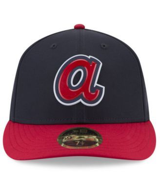 New Era Atlanta Braves Spring Training Pro Light Low Profile 59fifty Fitted Cap Blue 7 3 8 With Images Fitted Caps New Era Atlanta Braves