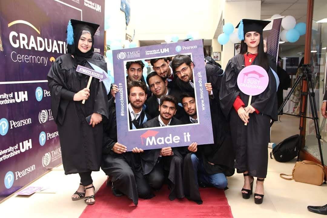 Graduation day at TMUC, Islamabad