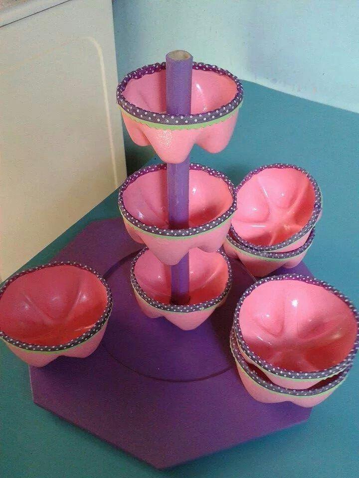 Dulcero Reciclado Manualidades Pinterest Cake Pops Ideas Y