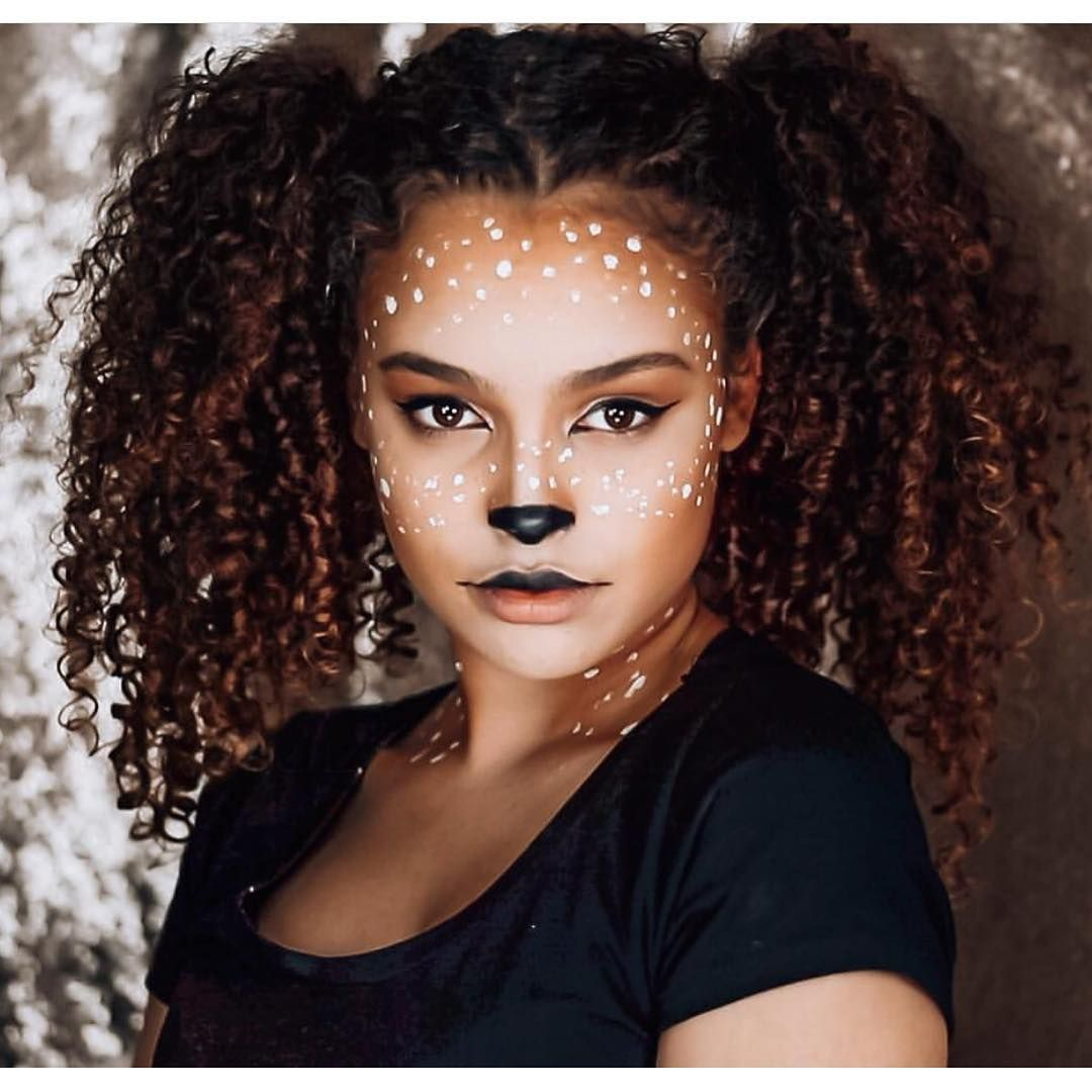 These Deer Makeup Looks Make A LastMinute Costume Easy