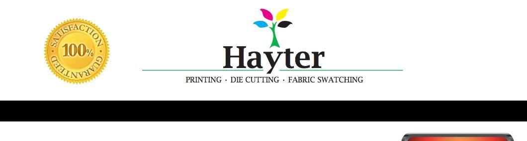 Hayter printing logo morristown tn prints print logo