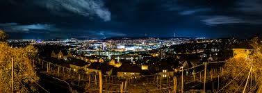 stuttgart skyline, germany ...