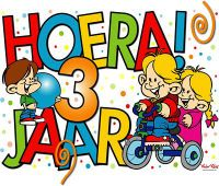 Hoera 3 Jaar Wishes Happy Birthday Wishes Happy Birthday En