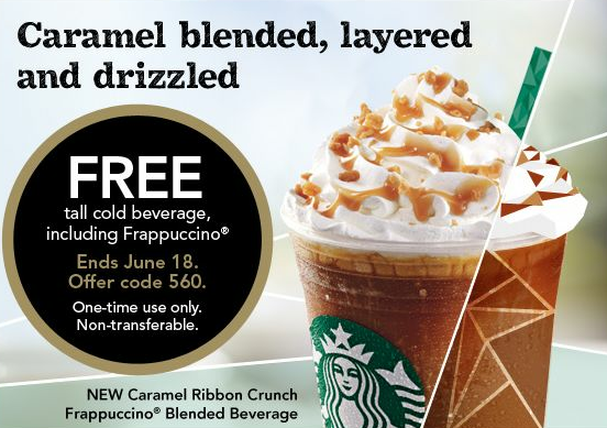 picture relating to Starbucks Printable Coupons referred to as Totally free Starbucks Espresso: No cost Iced Beverages Frappuccino, Iced