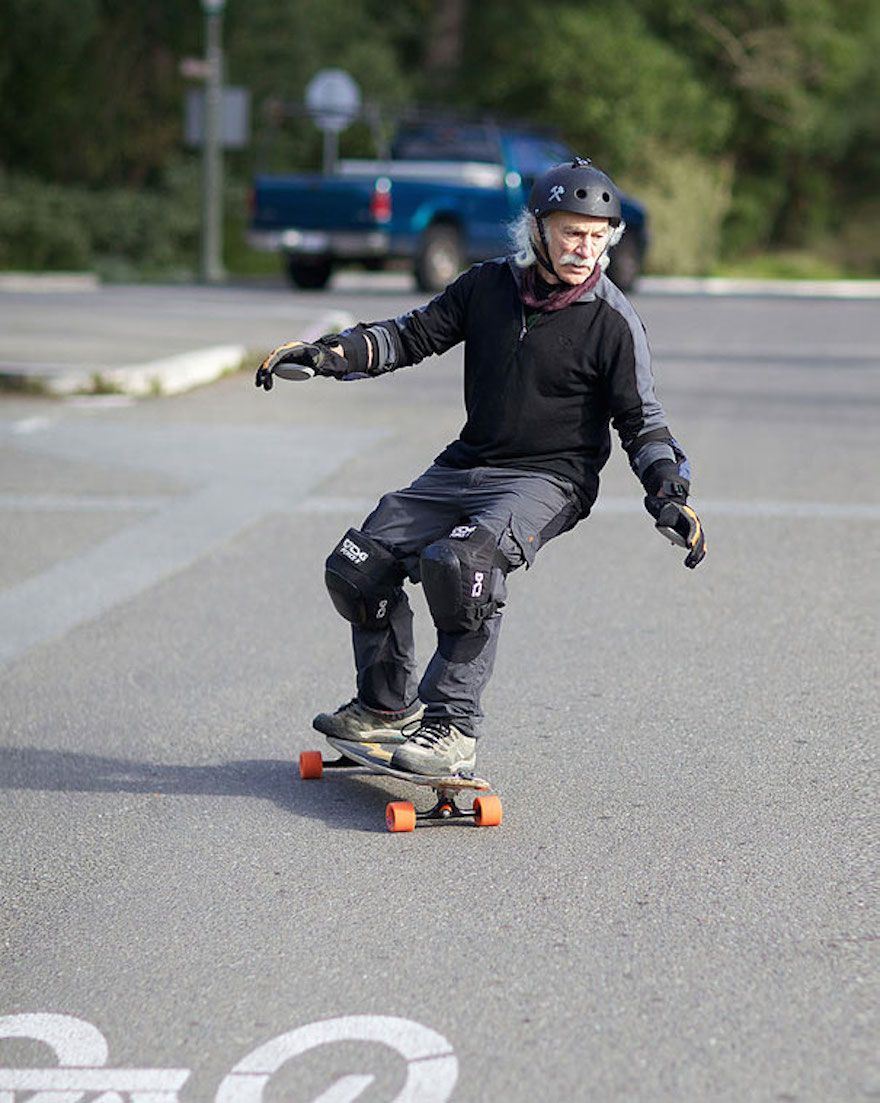 Age Of Happiness: These 60-And-Older Seniors Will Destroy Your Age Stereotypes... 78-year-old-longboarder-lloyd-kahn__605
