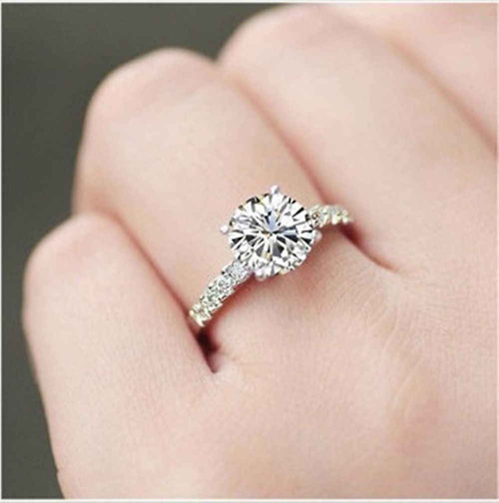 Quality Diamond Rings Aliexpress Com Beautiful Flower Royal