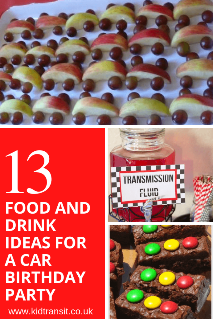 Car Themed First Birthday Food and Drink Ideas - my tortoise mind