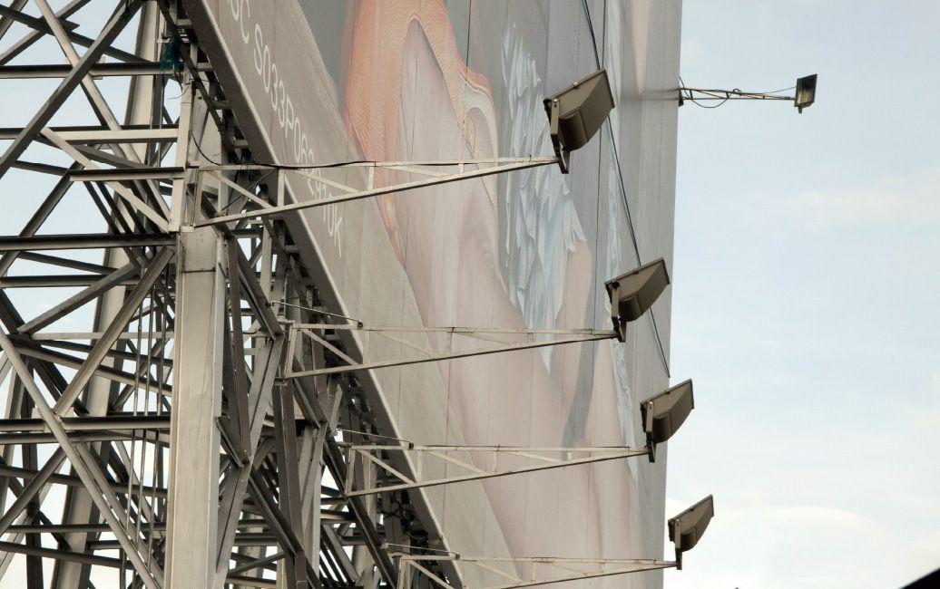 Billboard Lighting Using 1000w Metal Halide Lamp Uniformity Always Has Been A Challenge For Billboard Lighting With Design Solutions Lighting Design Lighting