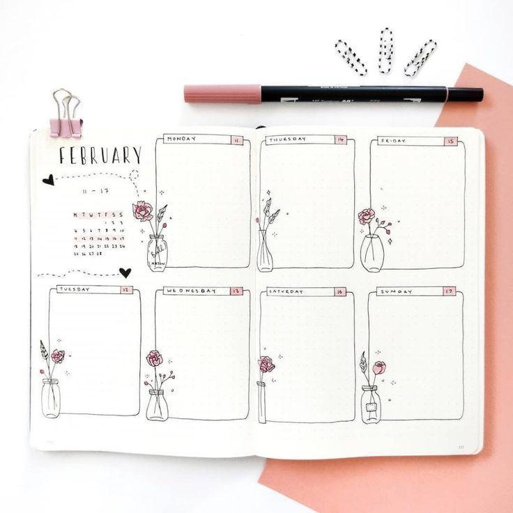 Best Bullet Journal Weekly Spread Ideas - #Bullet #Ideas #Journal #layout #Spread #Weekly