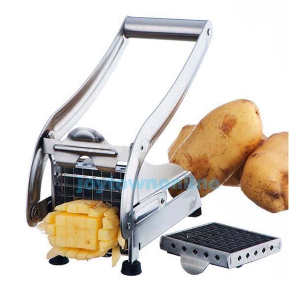 #j Stainless Steel French Fry Potato Vegetable Cutter Maker Slicer Chopper Dicer #Unbranded
