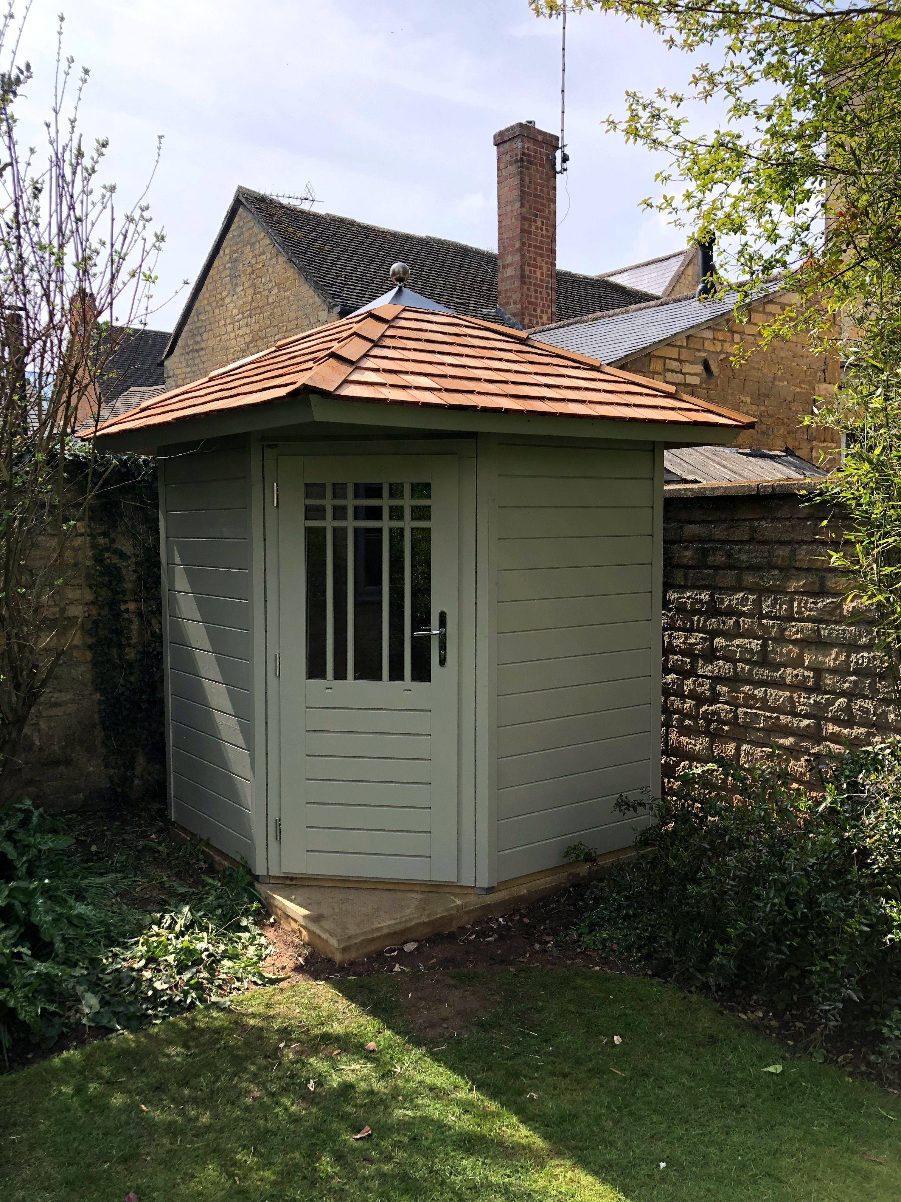 Best Pretty Garden Store With Cedar Shingle Roof 1 8M X 1 8M 400 x 300