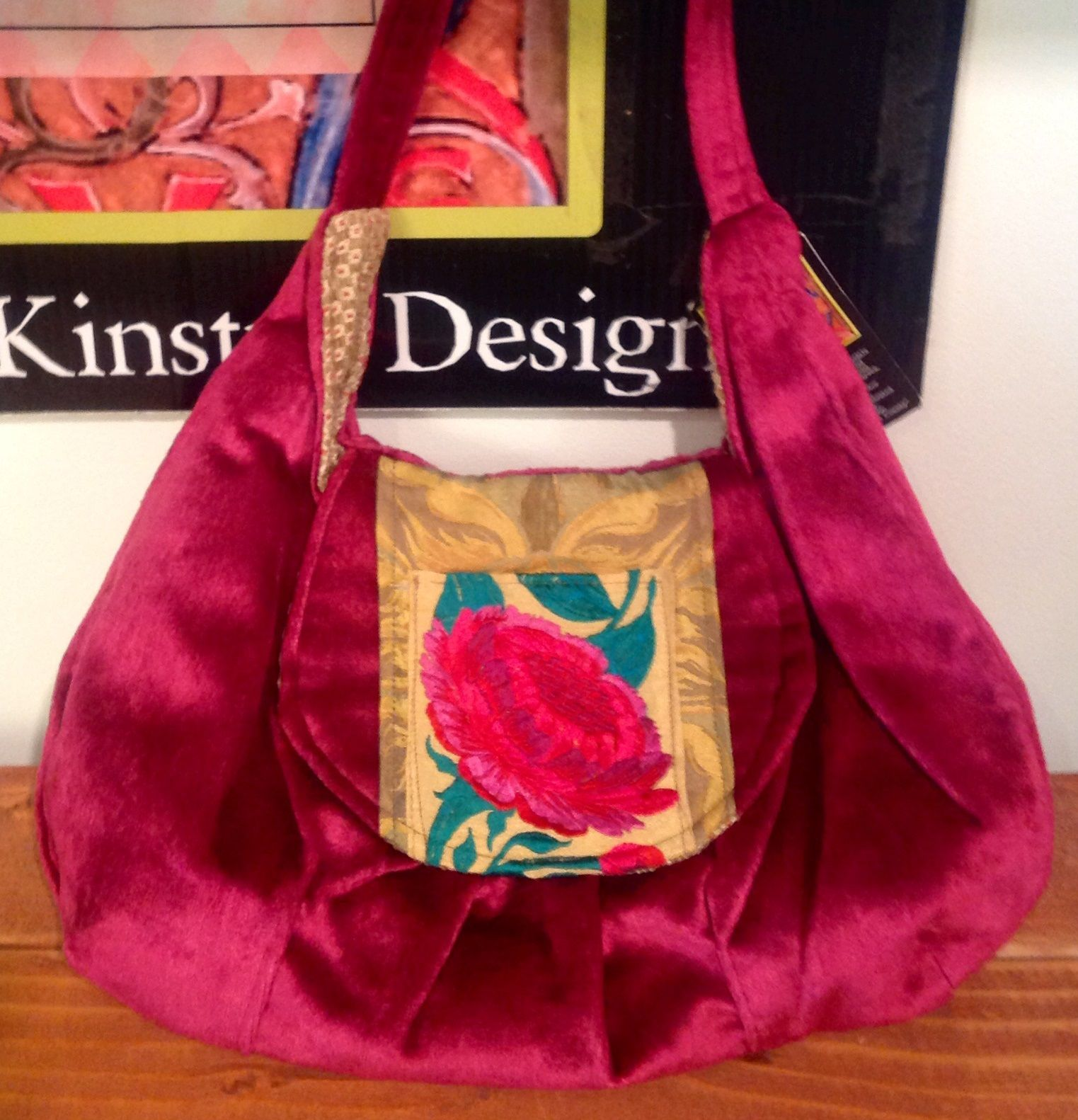 Candy is pretty in pink this purse is sure to get people